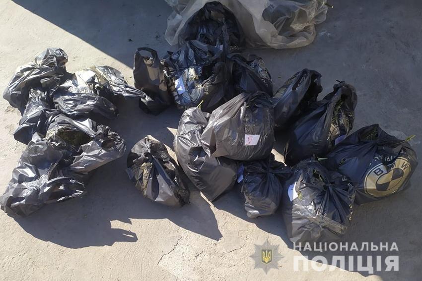 На Хмельниччині поліцейські вилучили у 49-річного місцевого жителя 8 кілограмів канабісу , фото-1