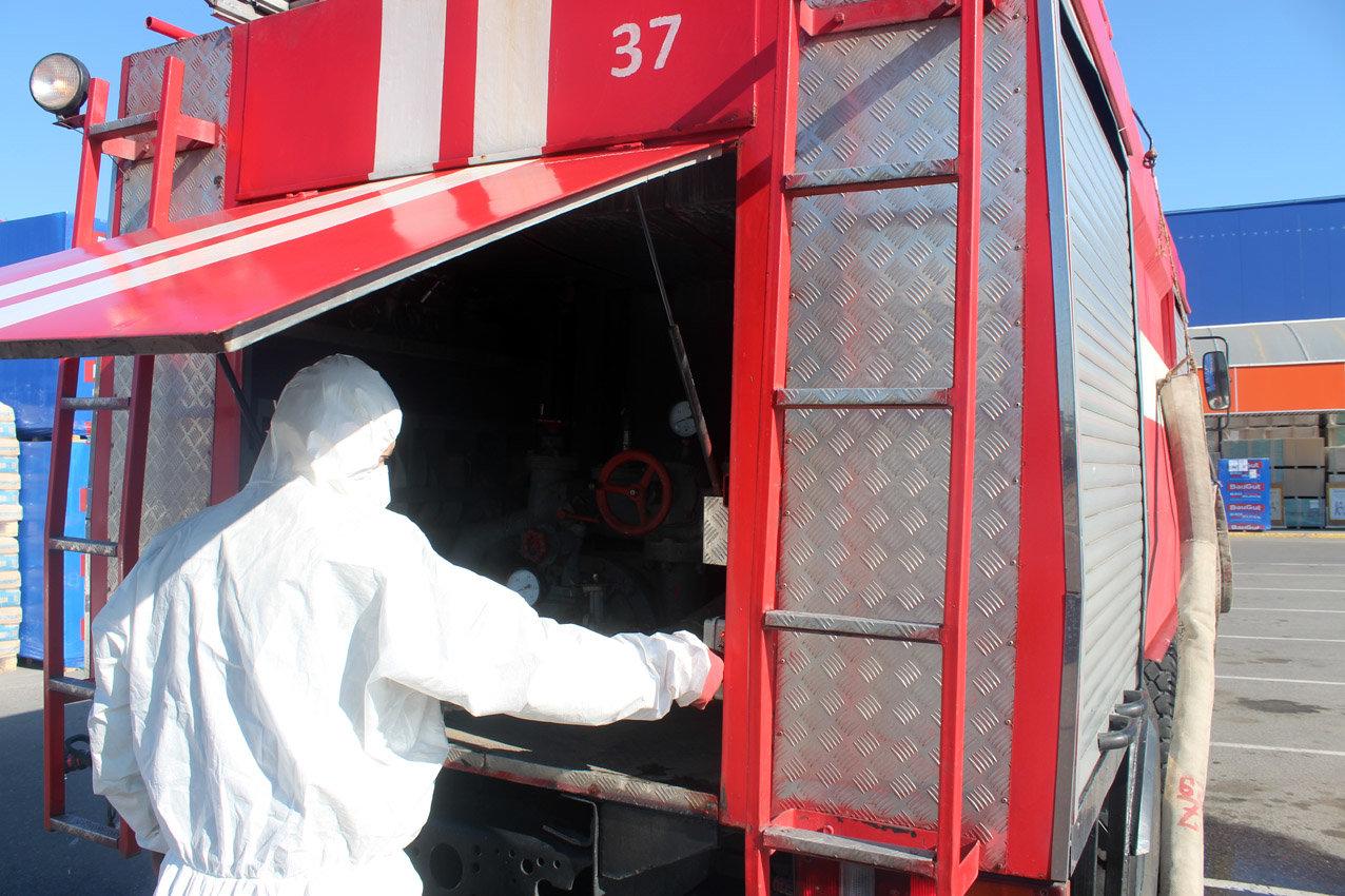 На Хмельниччині рятувальники продовжують протидіяти поширенню коронавірусної інфекції, фото-4