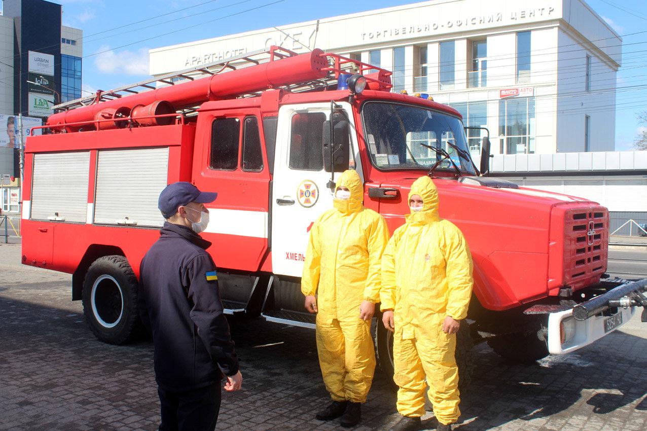 На Хмельниччині рятувальники продовжують протидіяти поширенню коронавірусної інфекції, фото-5