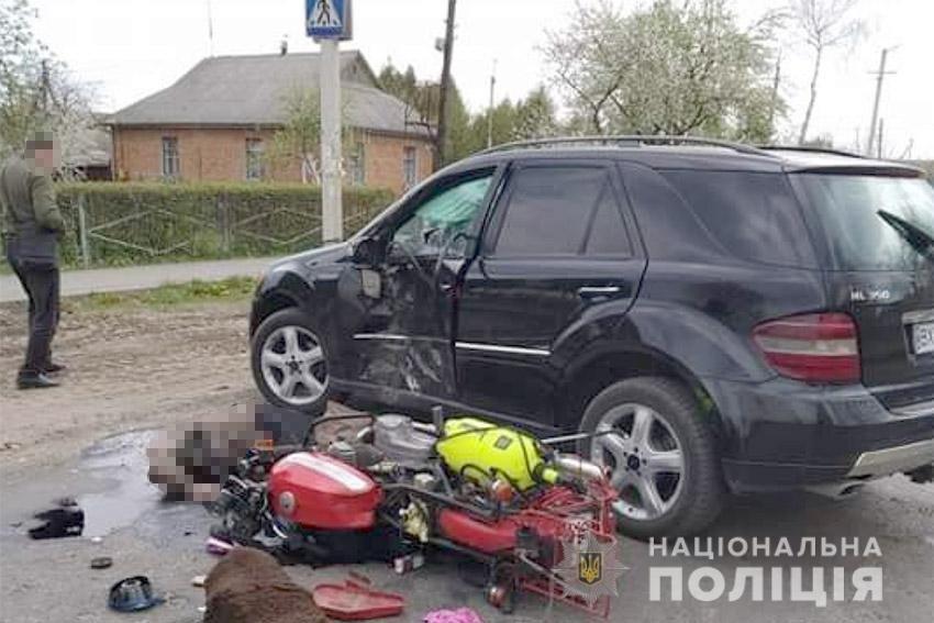 Трагічна ДТП: На Хмельниччині загинув мотоцикліст, фото-1