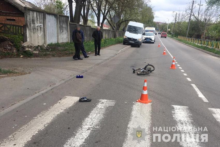 У Хмельницькому в ДТП травмувався 13-річний хлопчик на велосипеді, фото-2