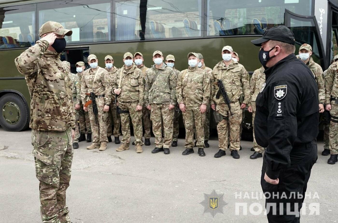 Зведений загін хмельницьких поліцейських вирушив у зону проведення Операції Об'єднаних Сил , фото-1
