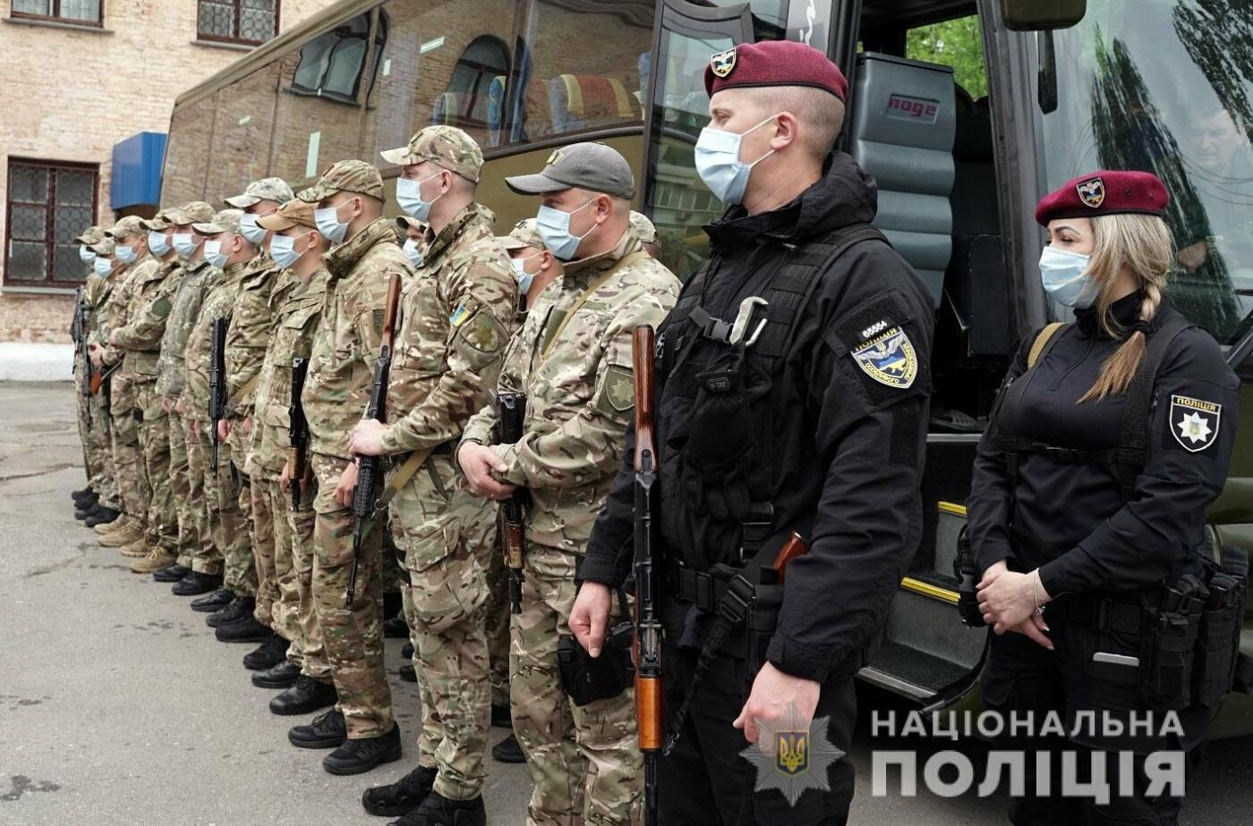 Зведений загін хмельницьких поліцейських вирушив у зону проведення Операції Об'єднаних Сил , фото-3