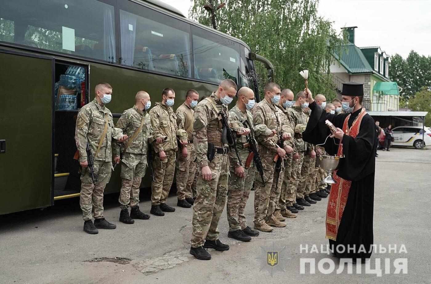 Зведений загін хмельницьких поліцейських вирушив у зону проведення Операції Об'єднаних Сил , фото-4