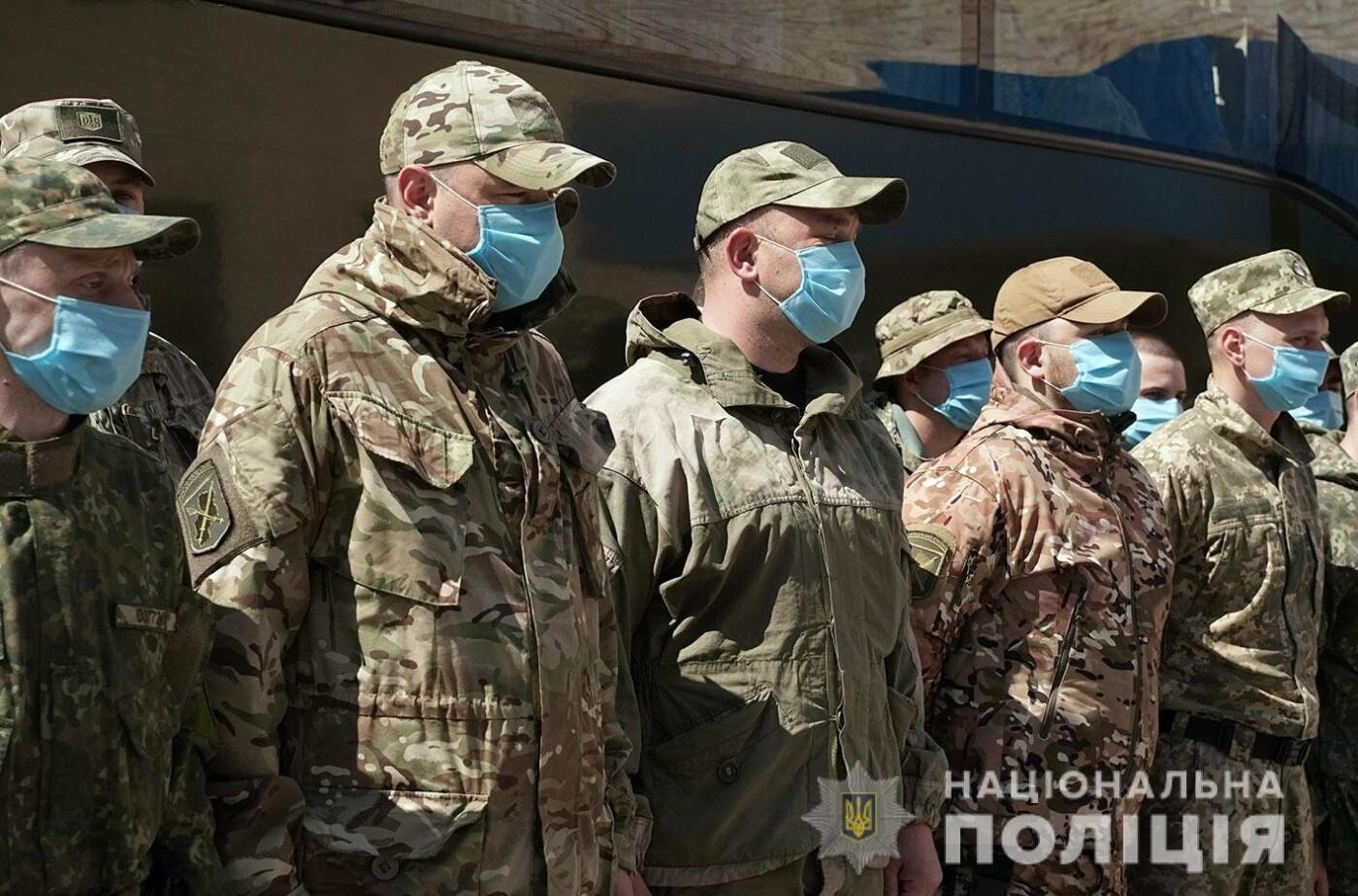 Зведений загін хмельницьких поліцейських повернувся із зони проведення ООС, фото-5