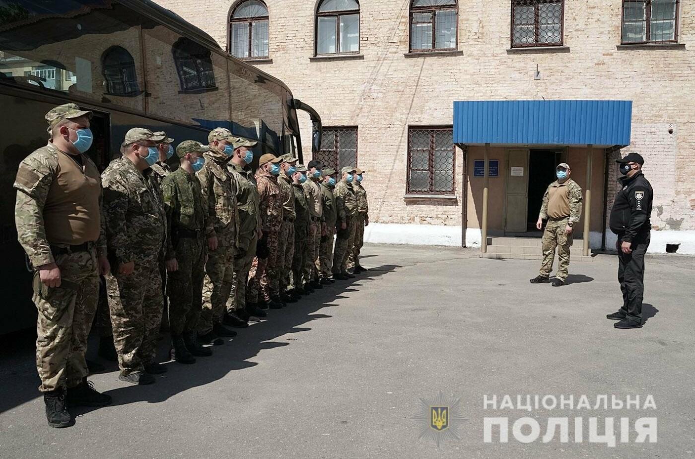 Зведений загін хмельницьких поліцейських повернувся із зони проведення ООС, фото-6