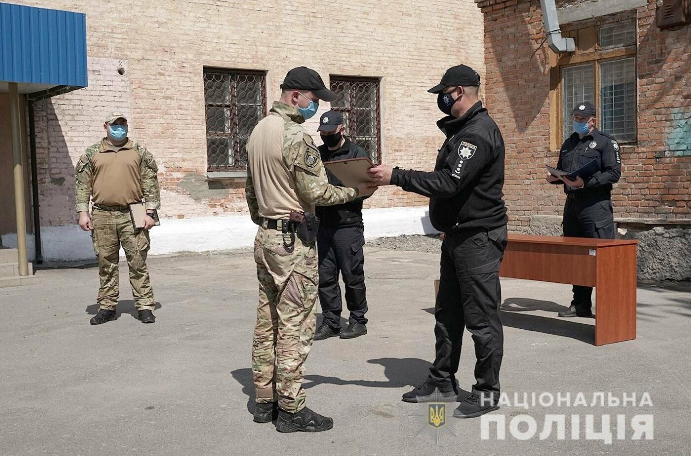 Зведений загін хмельницьких поліцейських повернувся із зони проведення ООС, фото-7