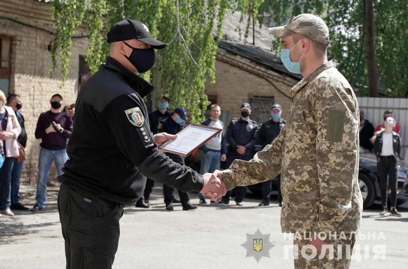 Зведений загін хмельницьких поліцейських повернувся із зони проведення ООС, фото-9