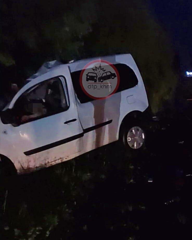 На Хмельниччині внаслідок лобового зіткнення двох автівок загинув чоловік, фото-2