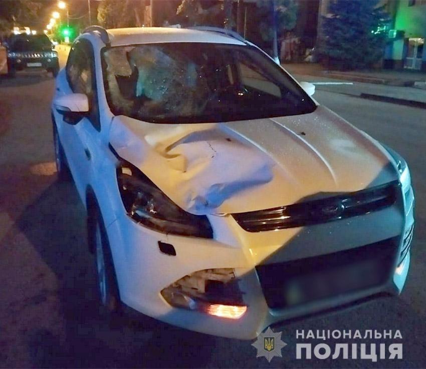 На Хмельниччині нетверезий водій автомобіля збив 24-річного пішохода , фото-1
