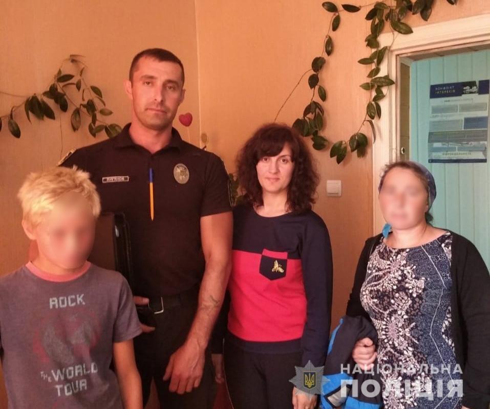 Поліцейські знайшли 12-річного «втікача», який образився на брата та пішов з дому, фото-1