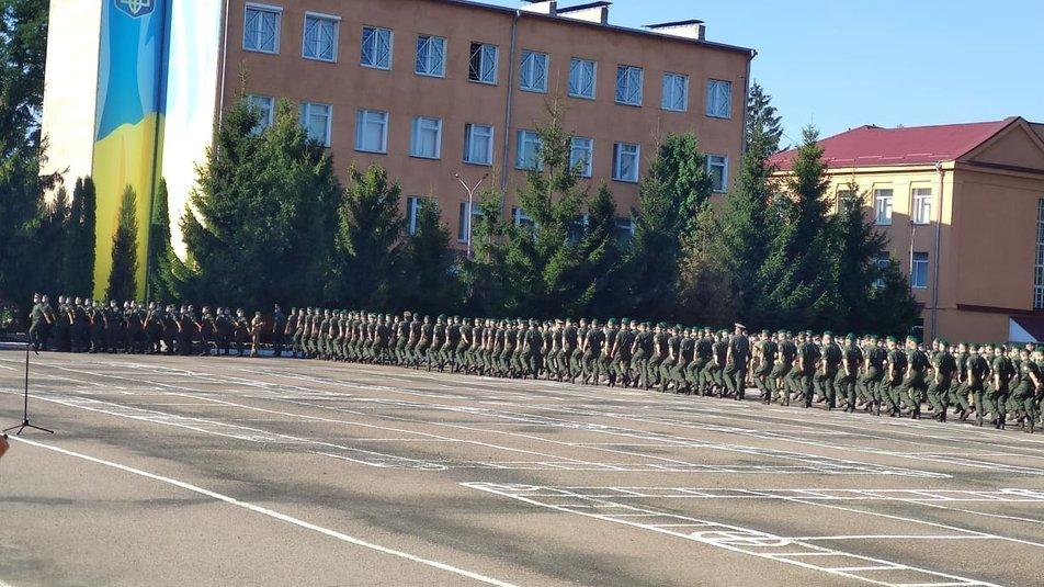 У Хмельницькій прикордонній академії 310 першокурсників склали присягу, фото-2