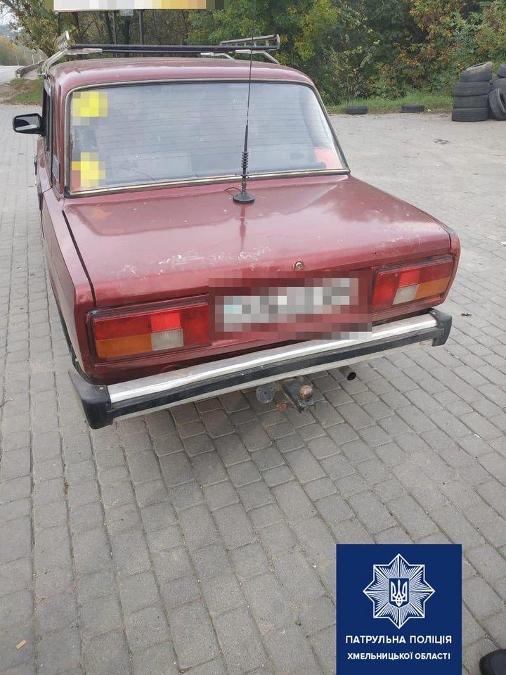 У Хмельницькому водій на вулиці Геологів подорожував під впливом наркотиків, фото-2