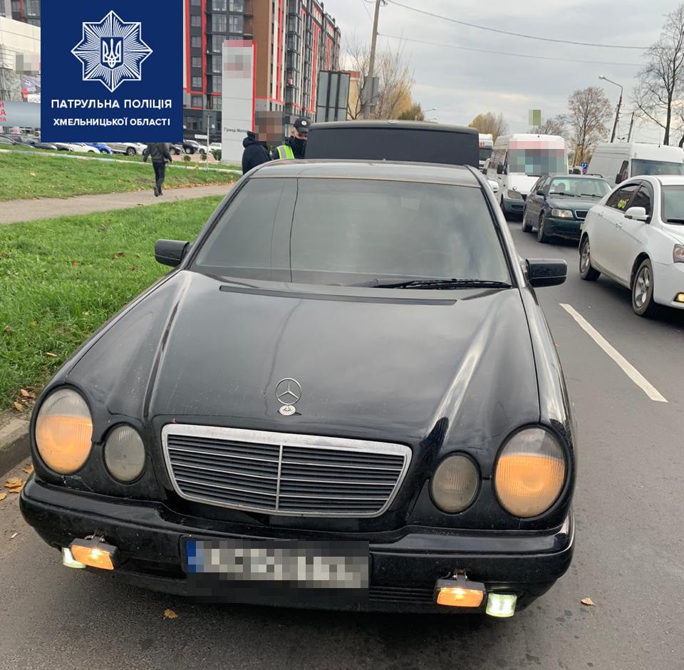 У Хмельницькому виявили водія з ознаками наркотичного сп'яніння та наркотичними речовини , фото-1