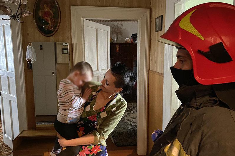 На Хмельниччині надзвичайники врятували дитину (ФОТО), фото-2