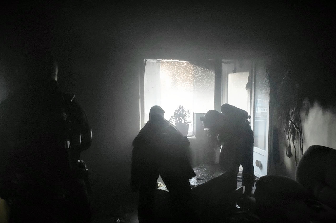 На Хмельниччині рятувальники ліквідували пожежу в квартирі багатоповерхівки, фото-2