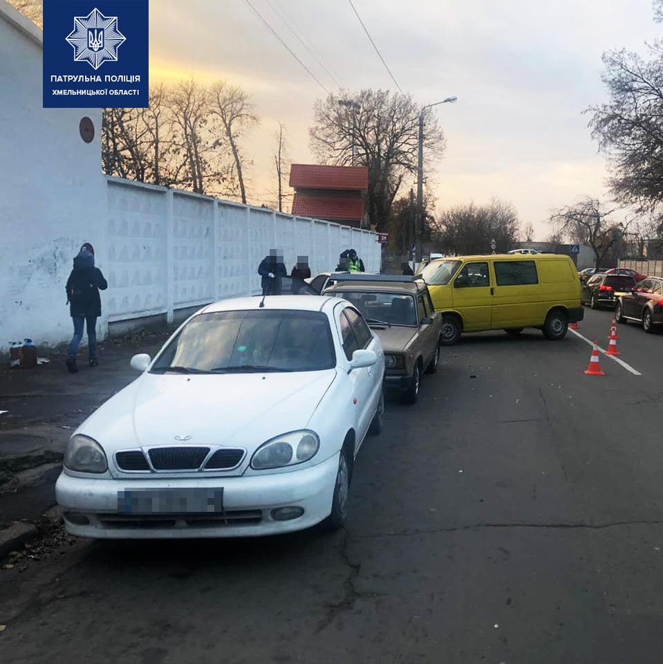 У Хмельницькому п'яний водій спричинив ДТП за участю чотирьох автомобілів, фото-2