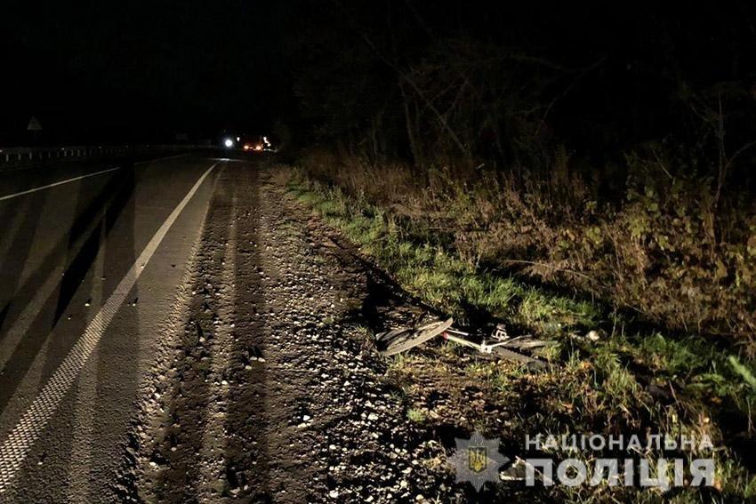 На Хмельниччині у результаті ДТП загинув велосипедист, фото-1