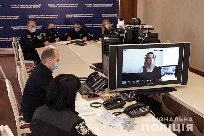 Хмельницькі поліцейські провели zoom-конференції з питань протидії домашньому насильству (ВІДЕО), фото-4