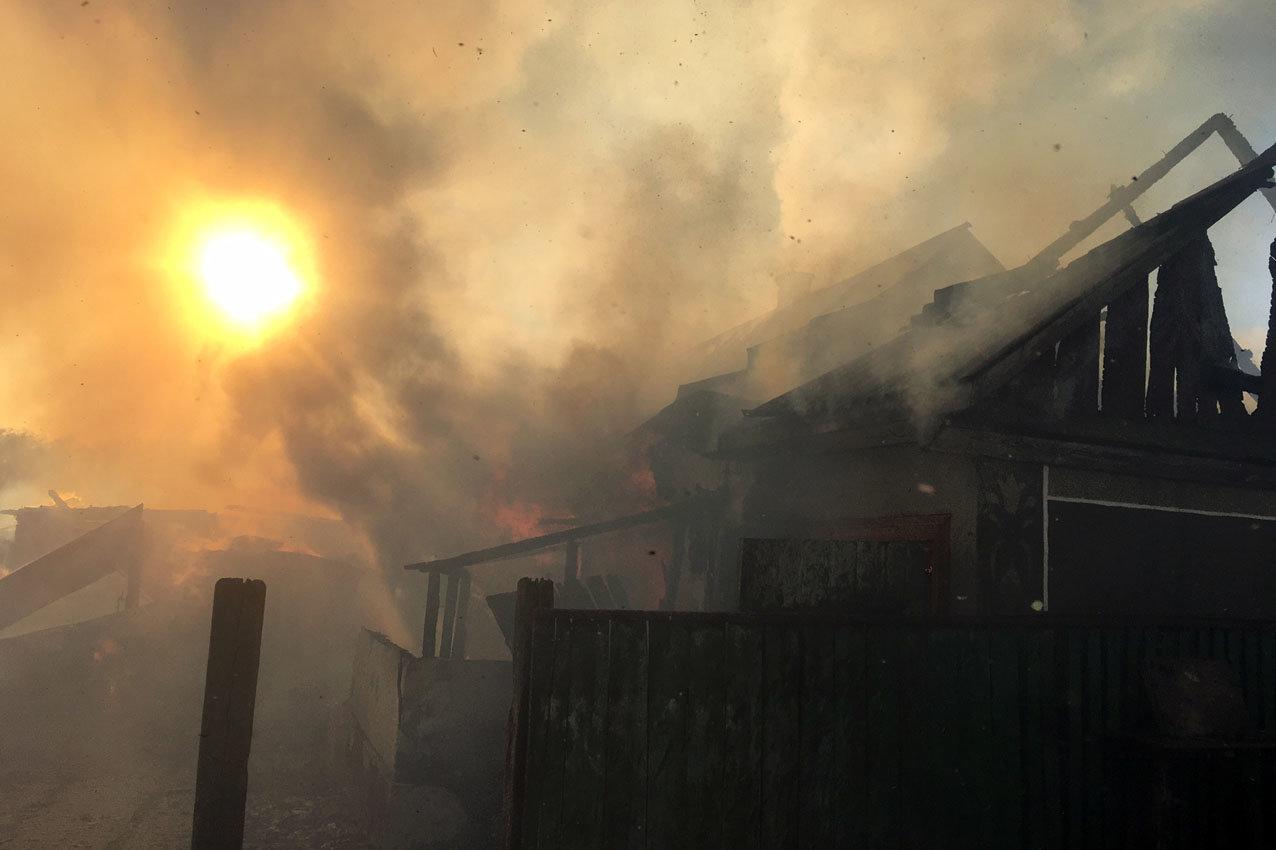 На Хмельниччині рятувальники ліквідували масштабну пожежу , фото-3
