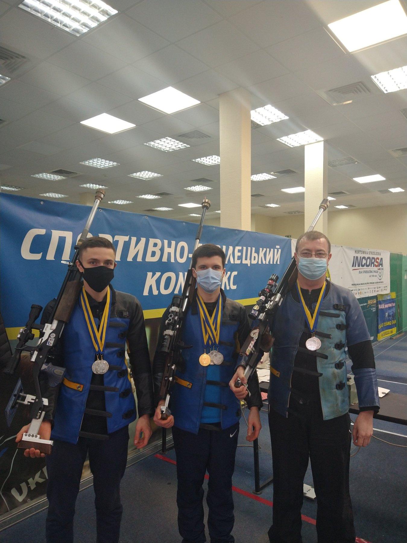 Збірна команда області успішно виступила на зимовому чемпіонаті України з кульової стрільби, фото-1