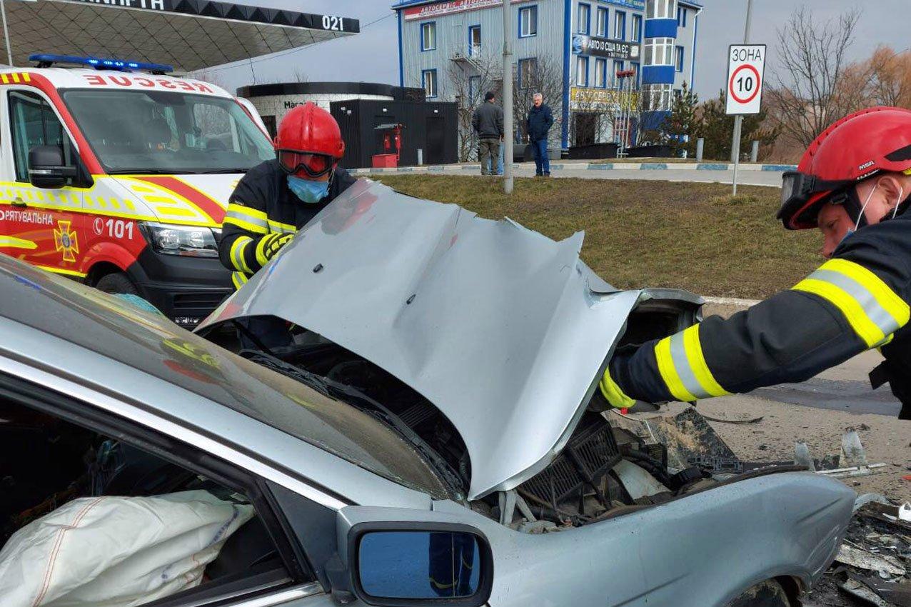 У Хмельницькому в ДТП травмувалися двоє водіїв, фото-1