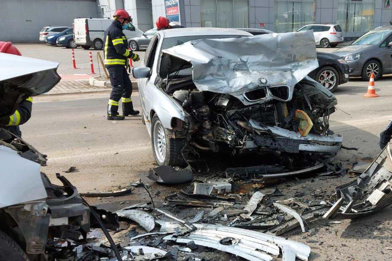 У Хмельницькому в ДТП травмувалися двоє водіїв, фото-3