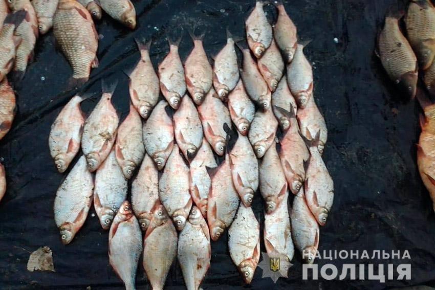 250 кг риби: На Хмельниччині поліцейські затримали браконьєра , фото-3