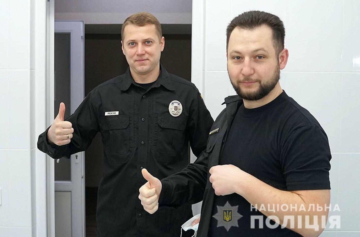 На Хмельниччині розпочалася вакцинація поліцейських , фото-3