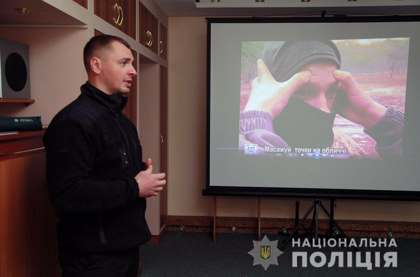 У Хмельницькому поліцейські психологи навчають учасників ООС, як зберігати спокій в екстремальних умовах, фото-3